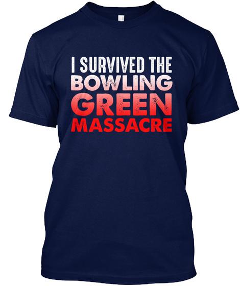 Bowling Green Survivor Navy T-Shirt Front