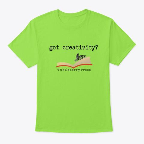 Got Creativity Lime T-Shirt Front