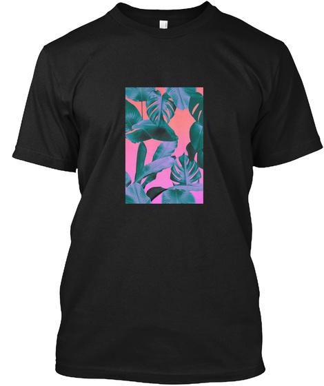 Vaporwave Merch Black T-Shirt Front