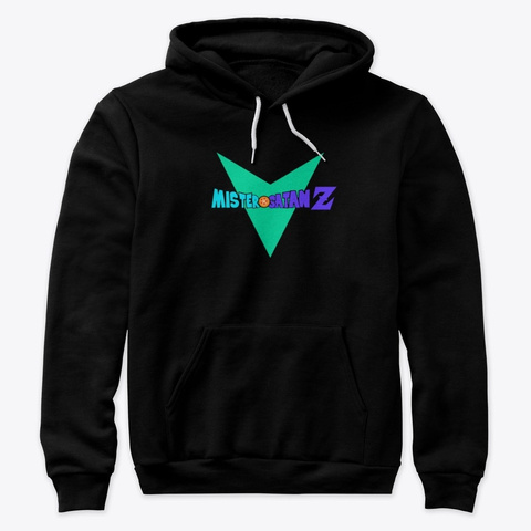 Selección Premium Mister Satan Z Black T-Shirt Front