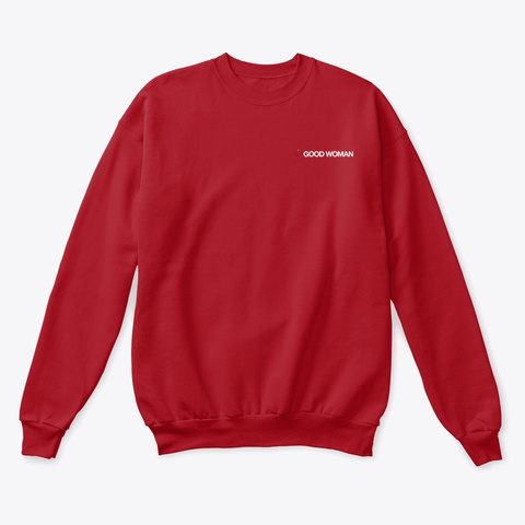 Good Woman | Drop 01 Deep Red  T-Shirt Front