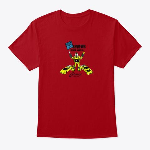 Deluxe Baldwin Deep Red T-Shirt Front