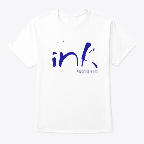 Audrey Jolin   Official Merch White T-Shirt Front