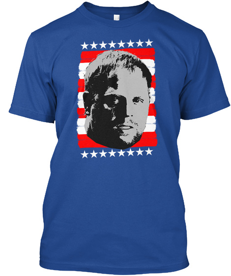 Philmerica Deep Royal T-Shirt Front