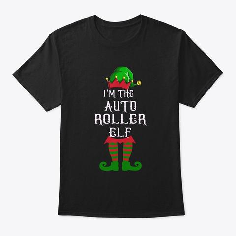 Auto Roller  Black T-Shirt Front
