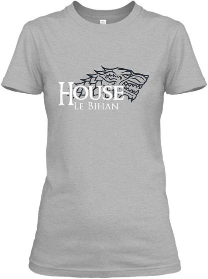 House Le Bihan Sport Grey T-Shirt Front
