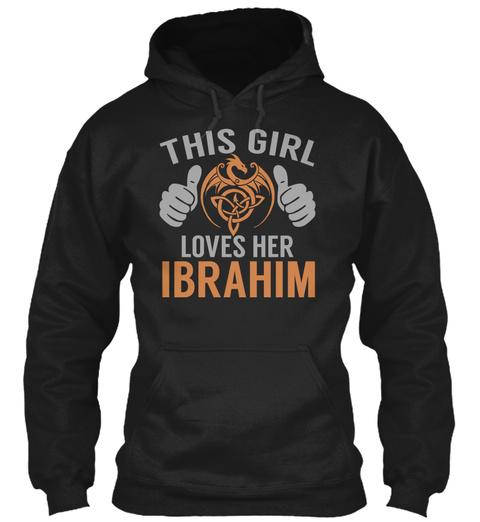 Loves Ibrahim   Name Shirts Black T-Shirt Front