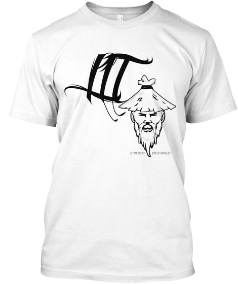 Litmasters Entertainment White T-Shirt Front