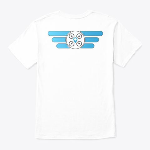 Flippidy Floppy White T-Shirt Back