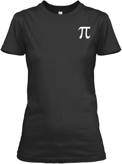 A Woman With A Mathematics Degree Black Women's T-Shirt Front