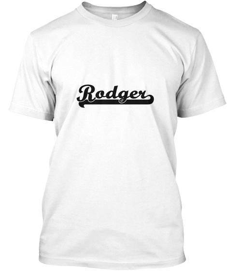 Rodger White T-Shirt Front