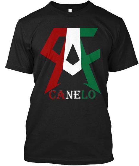 Canelo Black T-Shirt Front