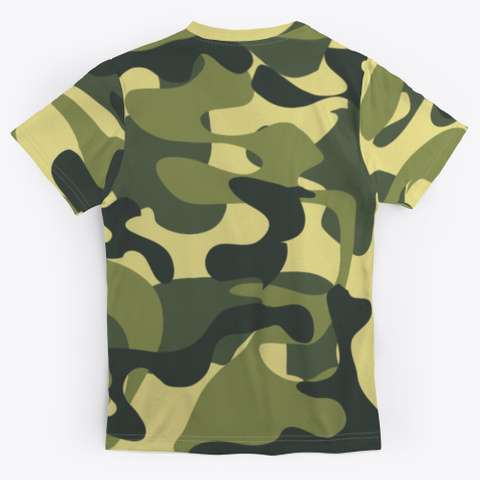 Ak 'metal Militia' T Shirt Standard T-Shirt Back
