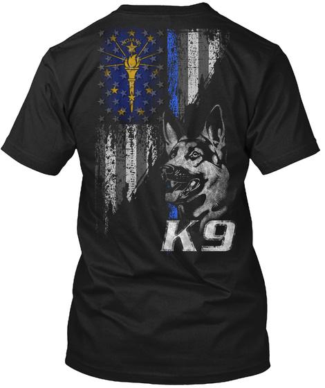Indiana Police K9 Unisex Tshirt