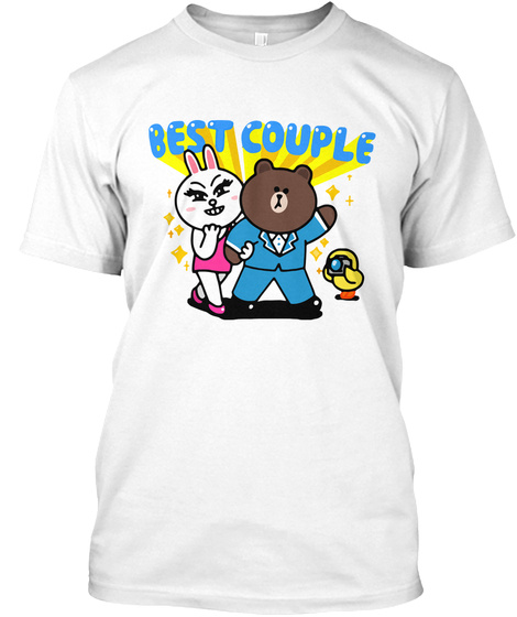 Best Couple  White T-Shirt Front