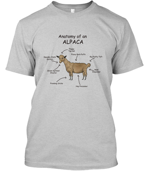 Anatomy Of An Alpaca - anatomy of alpaca fuzzy back puffs big fliffy ...