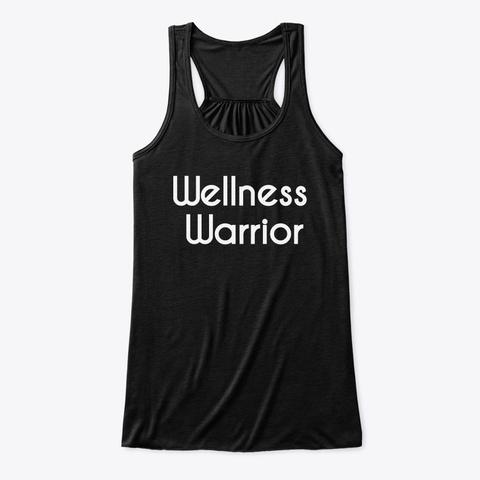 Wellness Warrior Tank Black T-Shirt Front