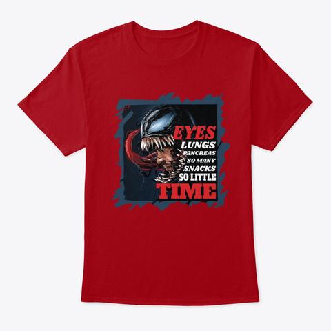 Venom05 Deep Red T-Shirt Front