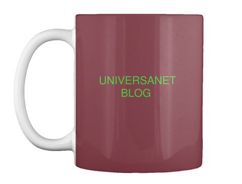 Universanet Blog Maroon T-Shirt Front
