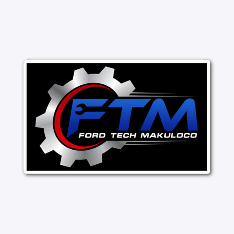 Ford Tech Makuloco Official Gear Standard T-Shirt Front