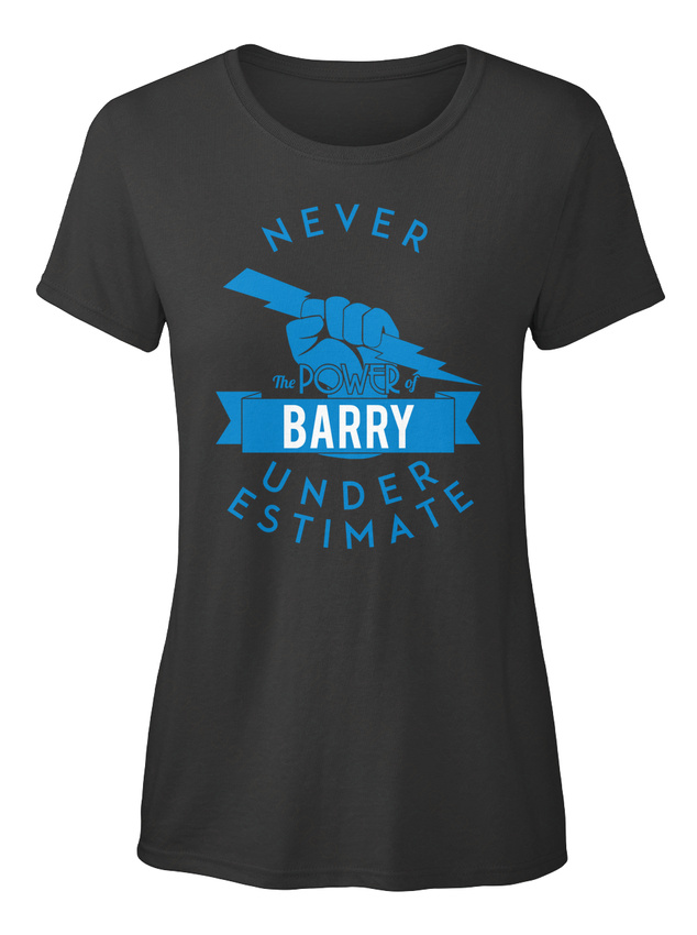 One-of-a-kind-Barry-Never-Underestimate-Strength-T-shirt-Elegant-pour-Femme