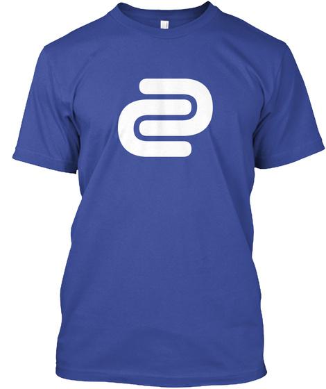 David Cutter Music Blue Tee Deep Royal T-Shirt Front