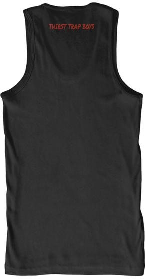 Thirst Trap Boys Black T-Shirt Back