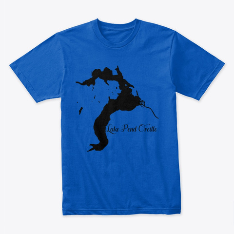 Lake Pend Oreille Royal T-Shirt Front