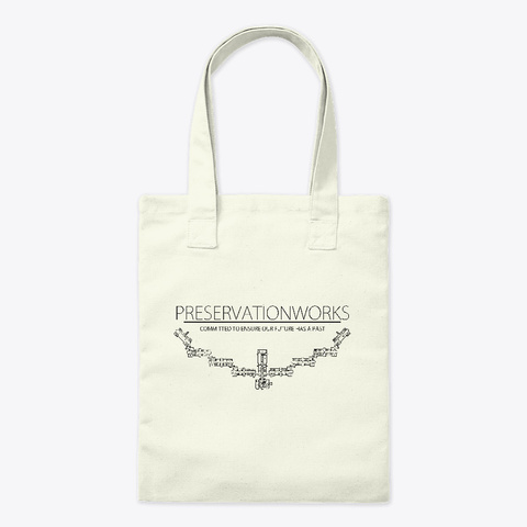 Tote Natural T-Shirt Front