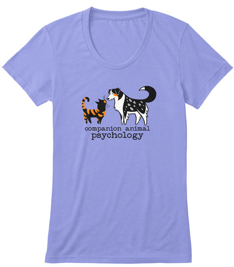 Companion Animal Psychology Orchid T-Shirt Front