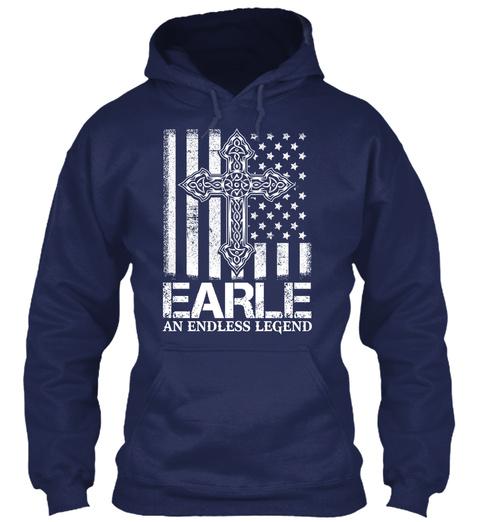 Earle An Endless Legend Navy Felpa Front