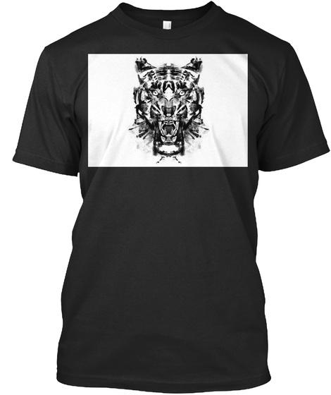 Roarschack Black T-Shirt Front