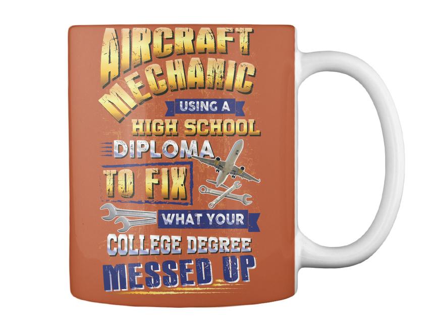 miniature 5 - On trend Sarcastic Aircraft Mechanic Gift Coffee Mug Gift Coffee Mug