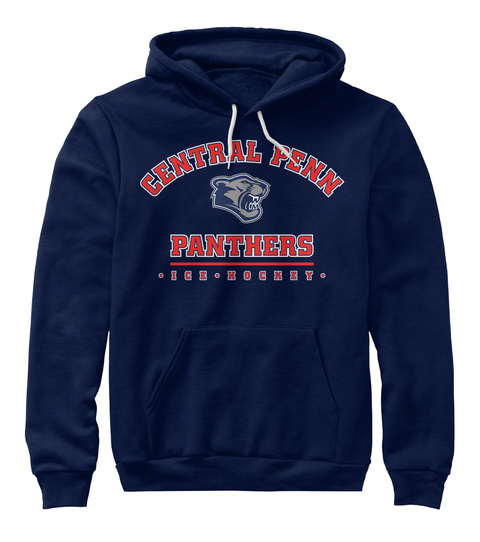 Cpp Hoodies (Adults) Navy T-Shirt Front