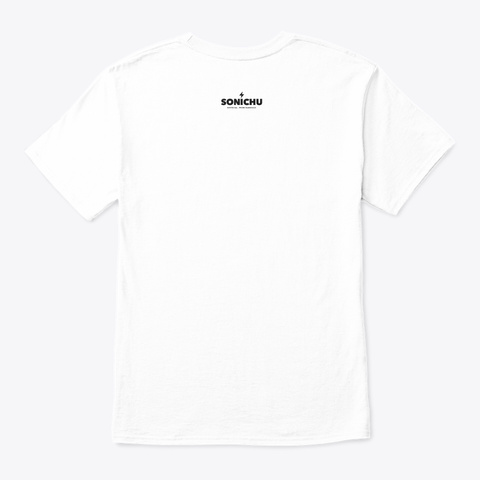 Sonichu   Medallion Tshirt White áo T-Shirt Back