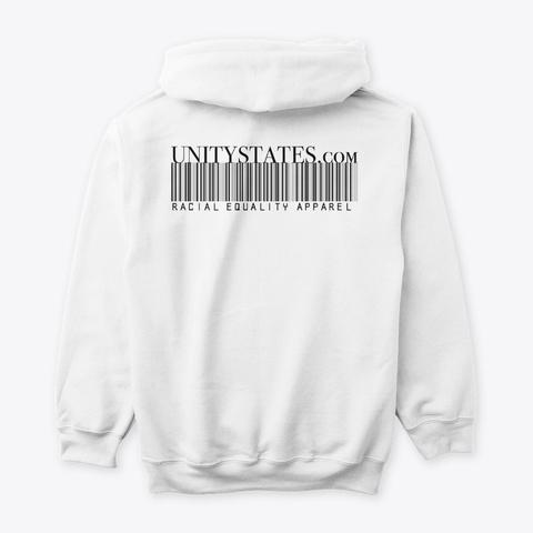 The Black House White T-Shirt Back
