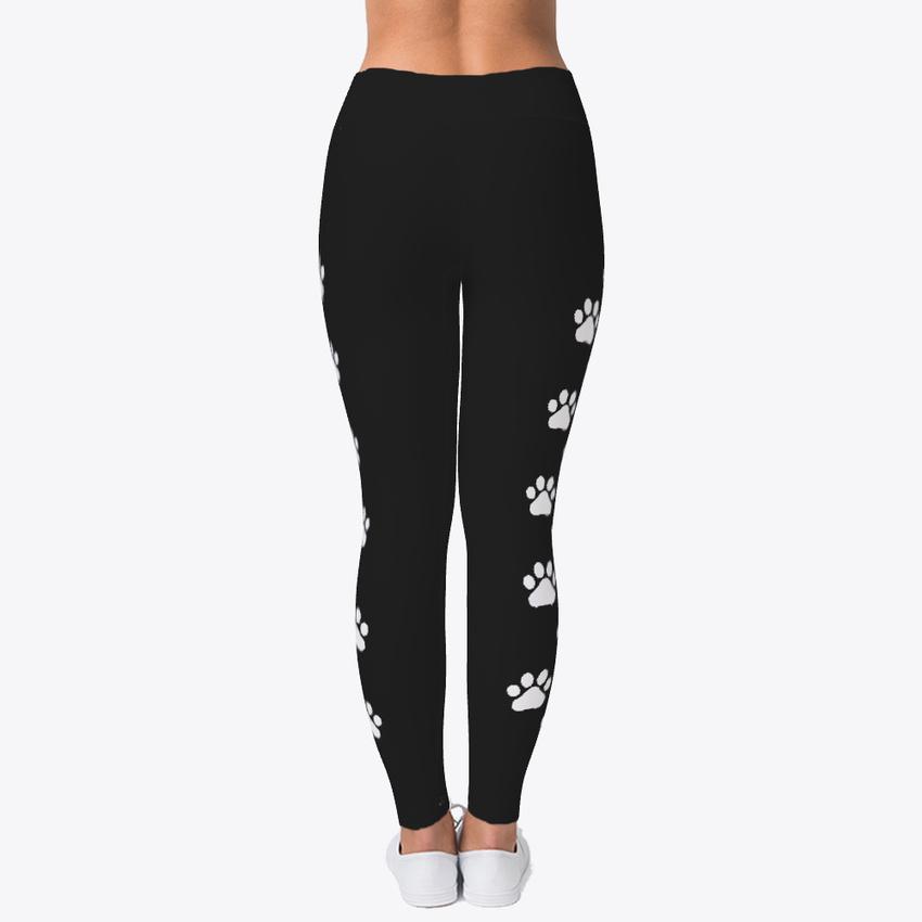 Twisted Envy Paw Prints Women/'s Print Fitness Stretch *Leggings* Yoga Pants