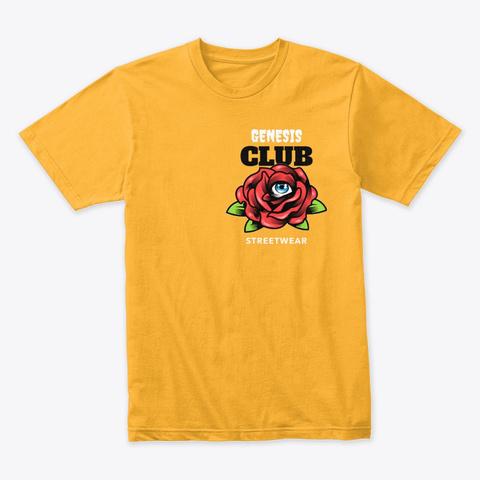 Eye Rose Gold T-Shirt Front