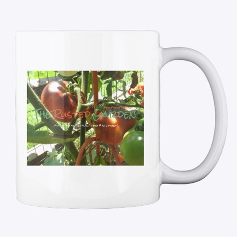 The Rusted Garden Coffee Mug White T-Shirt Back