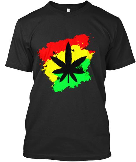 Herbal Life Black T-Shirt Front