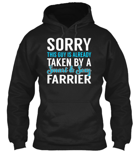 Farrier   Smart Sexy Black T-Shirt Front