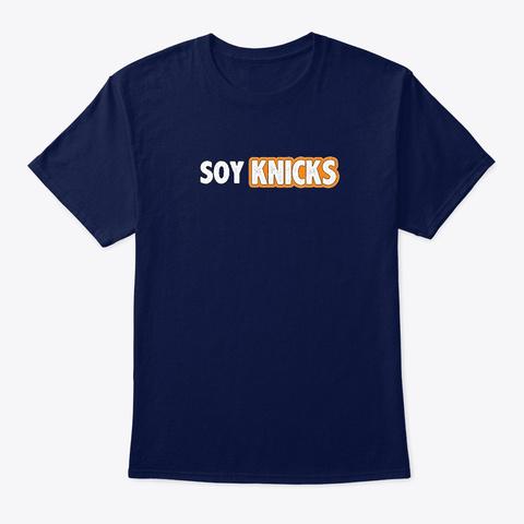 Soy Knicks Navy T-Shirt Front