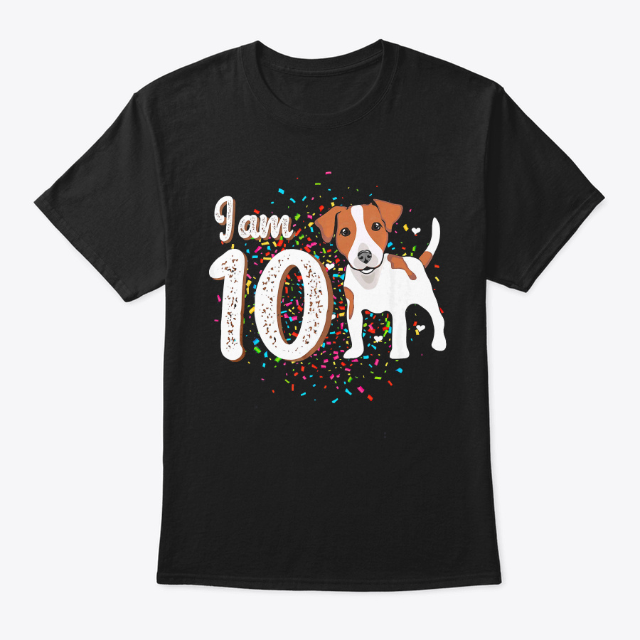 10th Birthday Jack Russell Terrier T Shi Unisex Tshirt