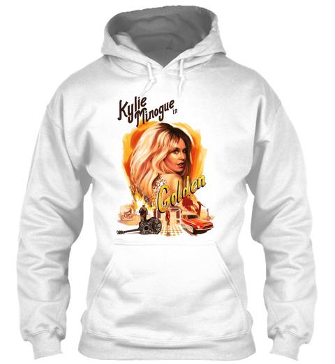Kylie En Minoque Dor 2019 Mnctv White T-Shirt Front