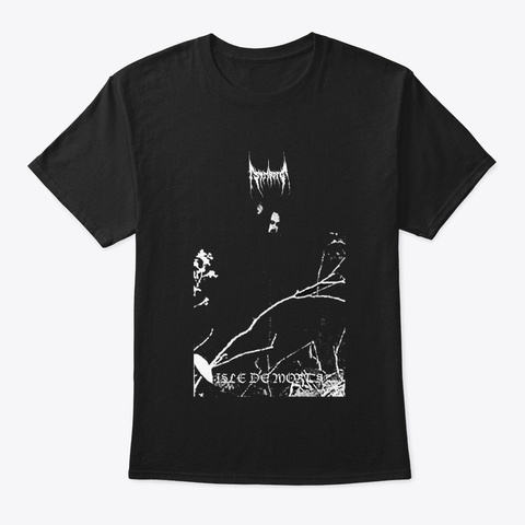 Meowy Humbug Black T-Shirt Front