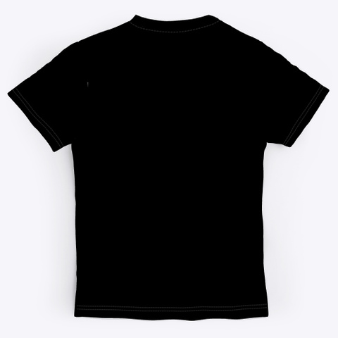 $Wish Crew Neck Black T-Shirt Back