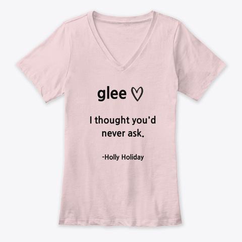 Glee   Holly Holiday Pink T-Shirt Front