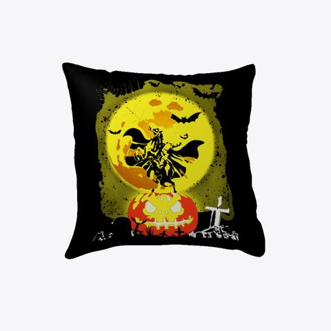 Halloween Horse Pillow Black T-Shirt Front