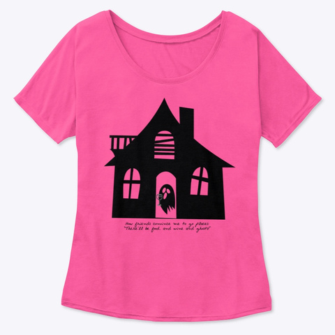 Food And Wine And Ghosts! Berry  Women's T-Shirt Front