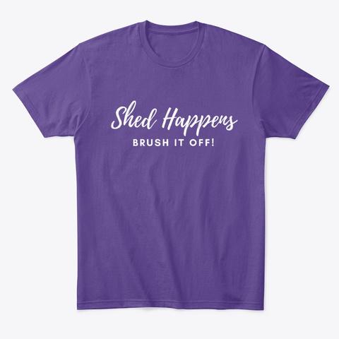 Fkf Shed Happens Purple T-Shirt Front